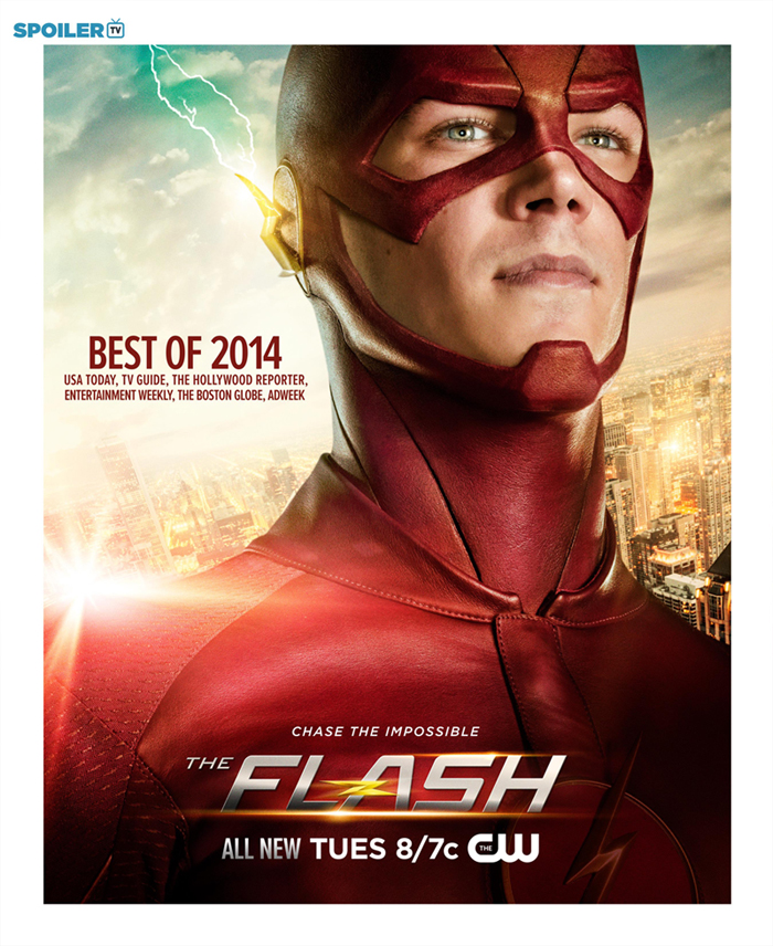 New The Flash Promotional Posters
