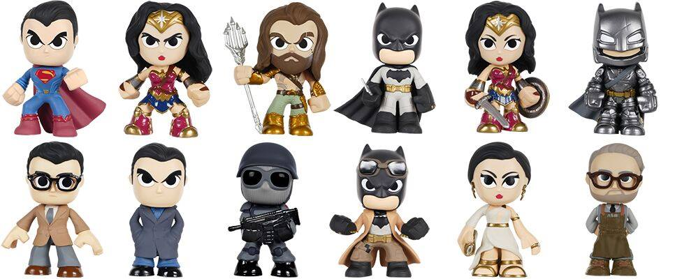 Batman V Superman Dawn Of Justice Funko Mystery Minis